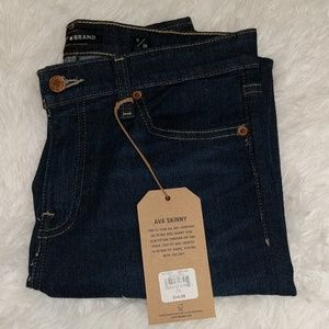 NWT Lucky Brand Ava Skinny Jeans Mid Rise sz 6